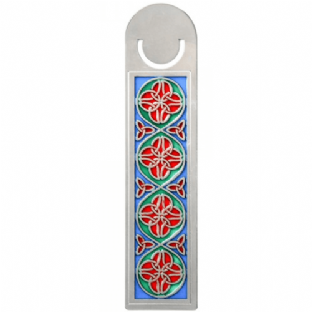 Celtic Coloured Trinity Knot Bookmark